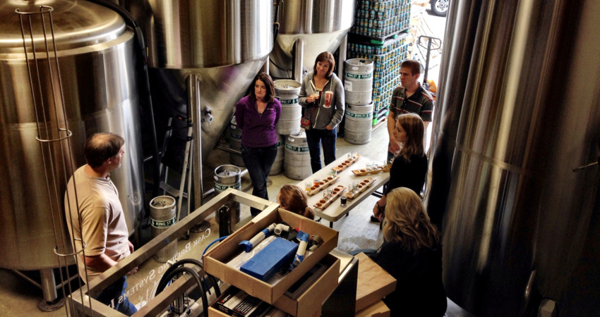 Learn the art and process of beer making.