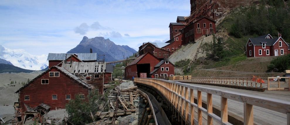 Wrangell St Elias National Park Mccarthy Kennicott Alaskatravel Com