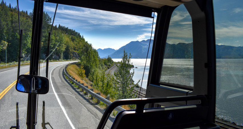 Park Connection travels to Seward on the scenic Seward Highway.