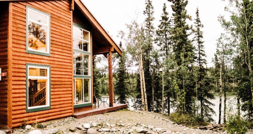 Riverside rooms at the Denali Park Village.