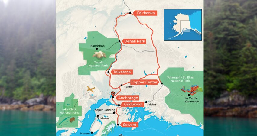 """Trip Report: One Guest's Perfect Alaska Roadtrip"" itinerary."