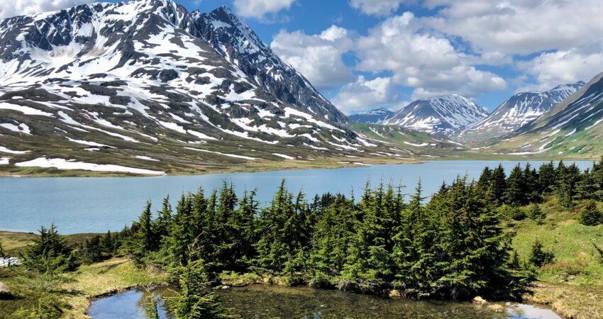 Lost Lake above Seward, one of Alaska's classic through hikes.